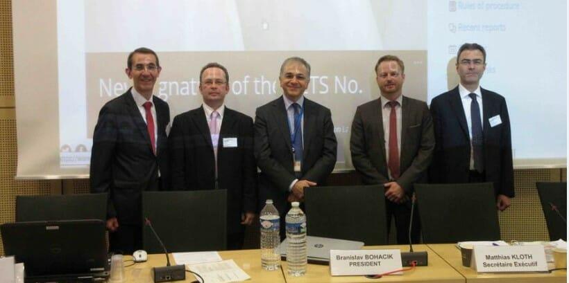 Монако на конференции Совета Европы в Страсбурге