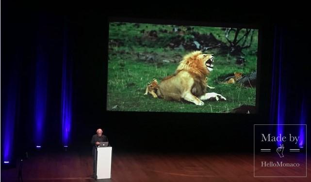 В Монако прошла конференция Яна Артюса-Бертрана