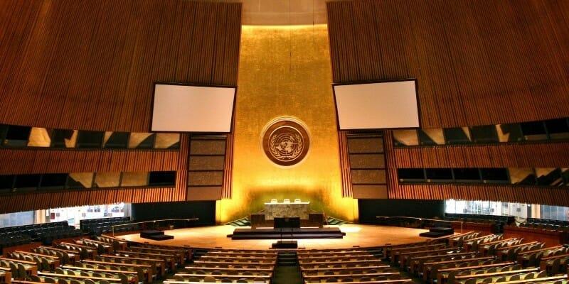 Презентация Monaco Explorations на встрече Генеральной Ассамблеи ООН