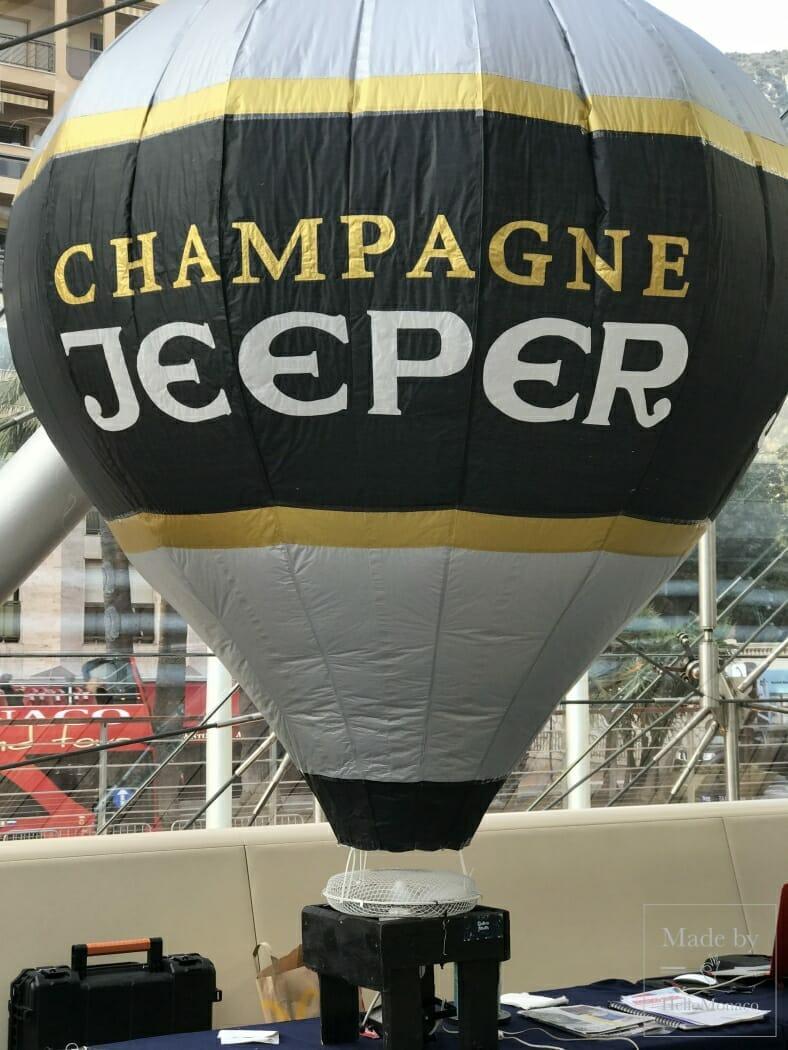 Les Aéronautes de Monaco представили экологичный воздушный шар