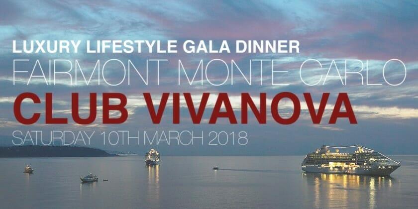 Благотворительный гала-ужин, организованный клубом Vivanova