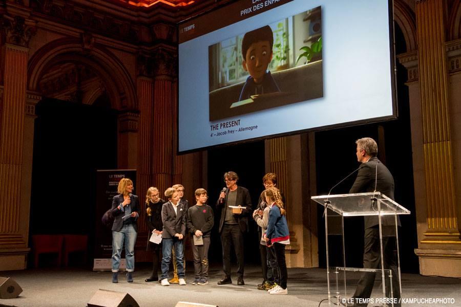 В Париже наградили победителей кинофестиваля Le Temps Presse