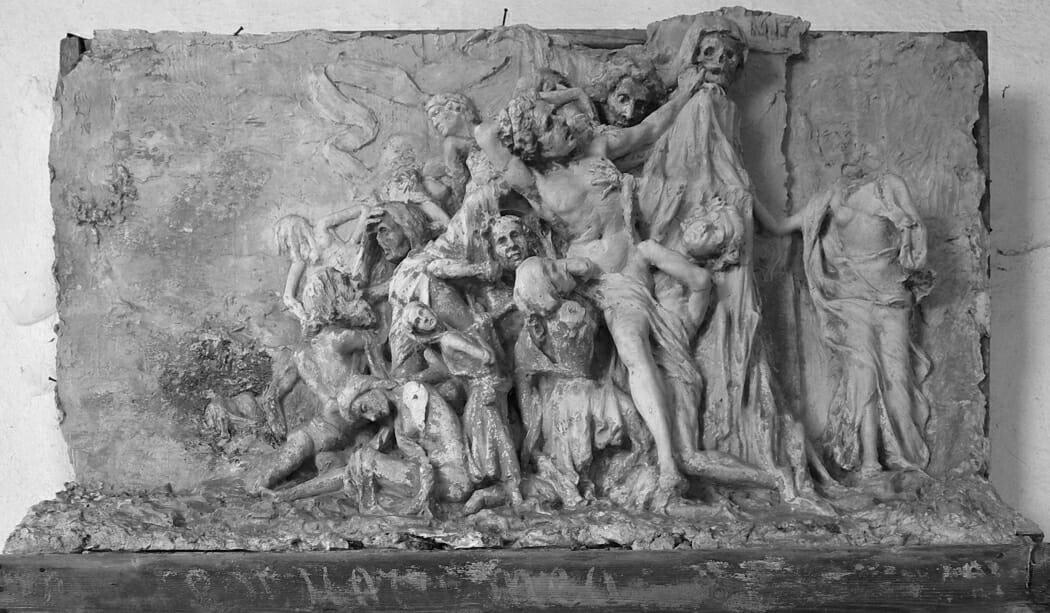 УмбертоБассиньяни - итальянский скульптор в Монако