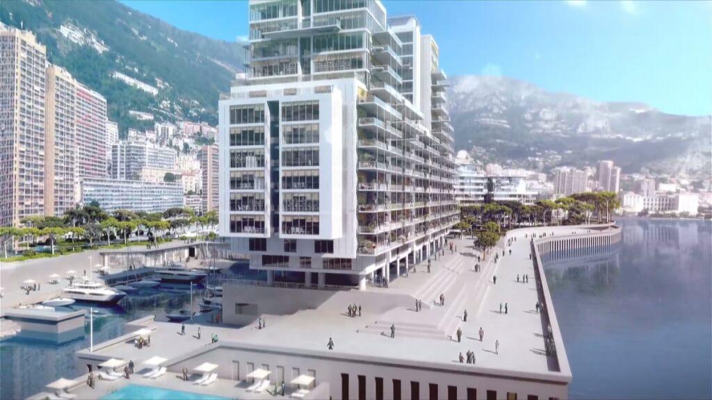 Новый квартал в Монако: работы продолжаются