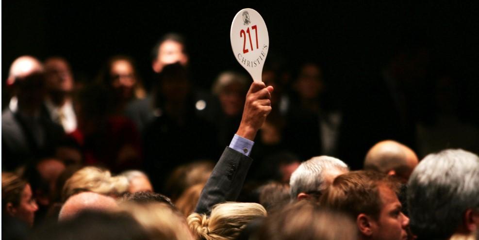 6 крупнейших аукционных продаж 2017 года