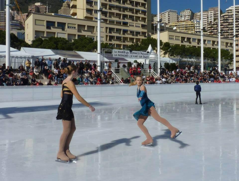 Чемпионат по фигурному катанию, организованный Монегасским клубом по катанию на коньках (SCОM)