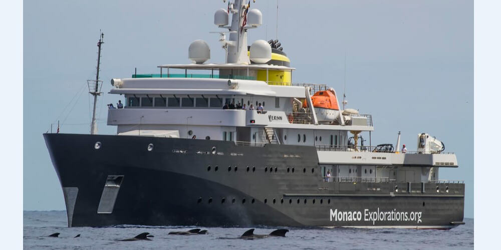 Команда Monaco Exlorations продолжает свою экспедицию