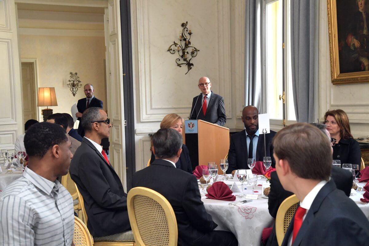 Игроки Roca Team встретились с членами правительства Монако