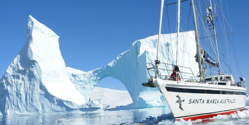 Яхт-клуб Монако стал партнером экспедиции в Антарктику