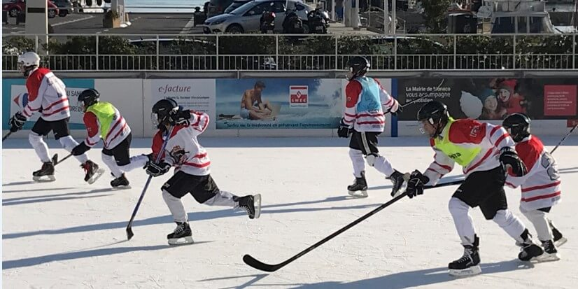 Мероприятия Монегасского клуба по катанию на коньках (SCОM)
