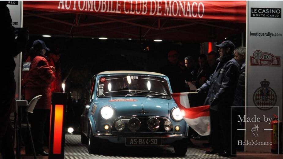 В княжестве стартовало 21-е Историческое ралли Монте-Карло