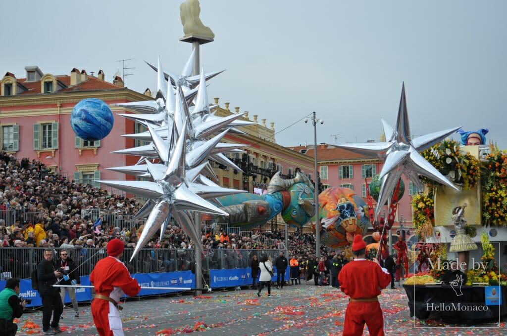 Цветочная феерия: один день на Карнавале Ниццы