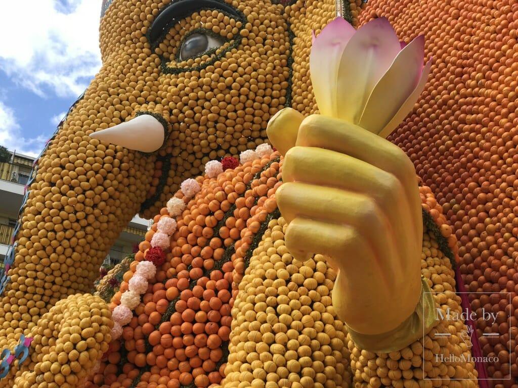 85-й Фестиваль лимонов в Ментоне: и лимон превращается в...
