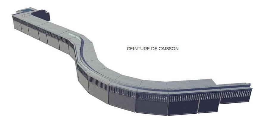 Строительство Портье: производство закладочного материала и кессонов