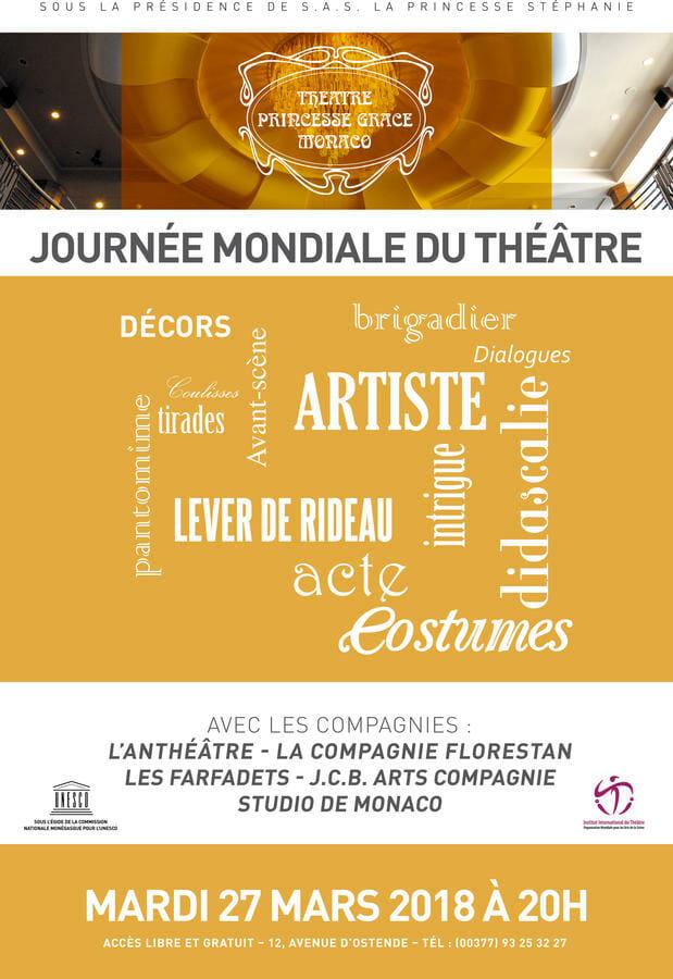 Монако примет участие во Всемирном дне театра