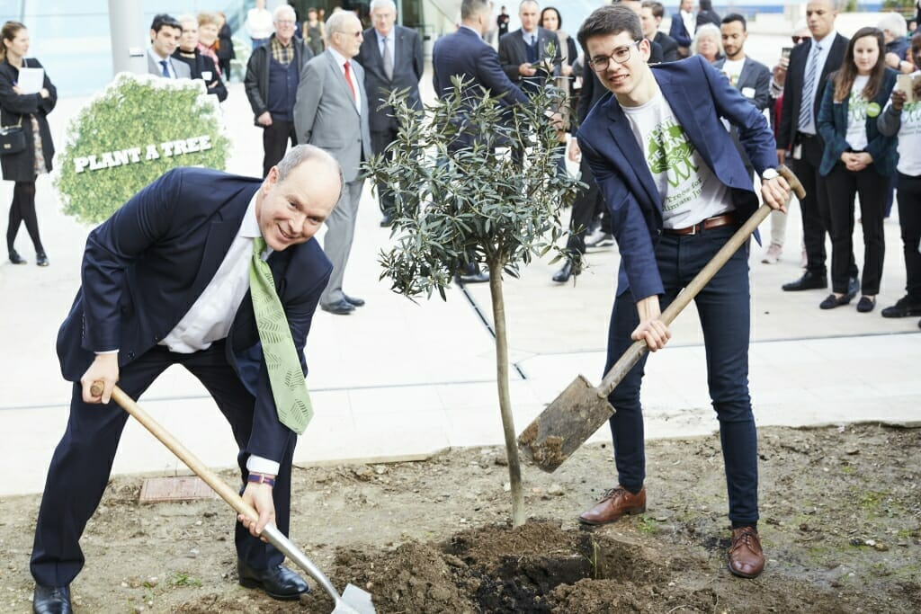 PlantAhead: глобальная кампания по посадке триллиона деревьев стартовала из Монако!