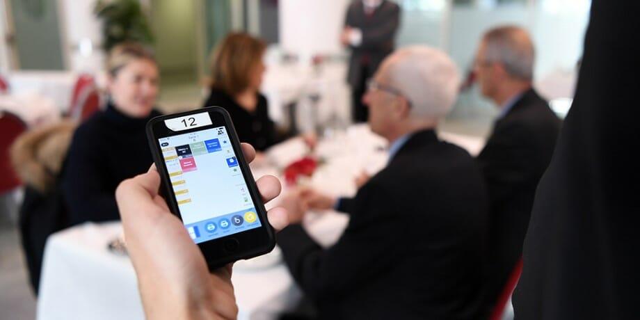Ресторан Cordon d'Or в эпоху цифровых технологий