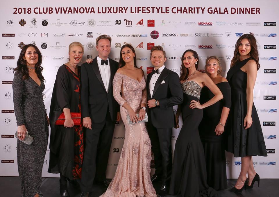 В Монако состоялся гала-вечер клуба Vivanova