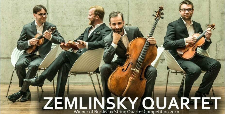 Весна искусств: концерт Zemlinsky Quartet