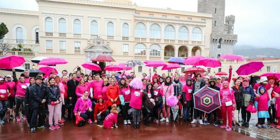 В Монако прошел ежегодный марш Pink Ribbon Walk