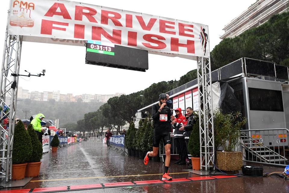 Monaco Run: дождь спорту не помеха
