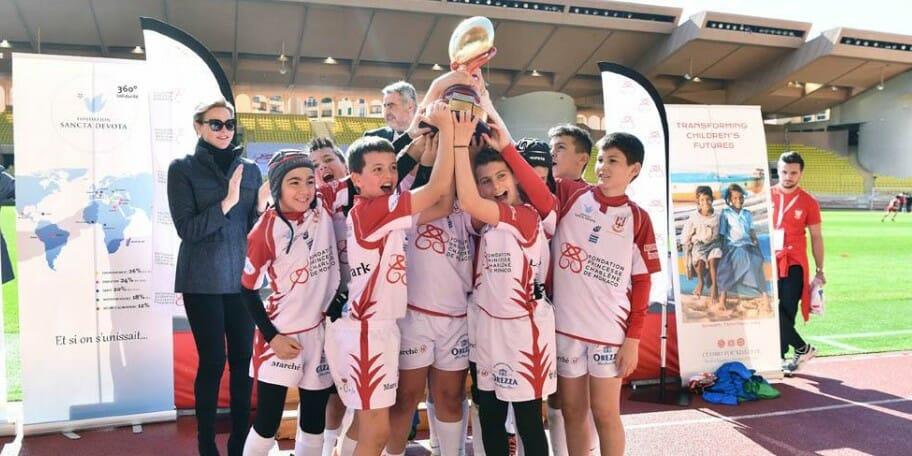 Команда юных монегасков выиграла Кубок Святой Девоты по регби