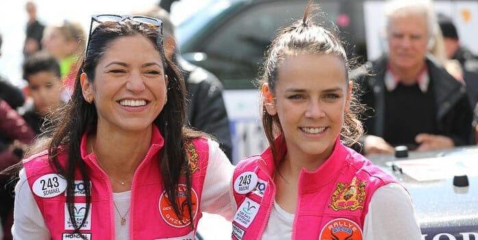 Полин Дюкре и Жасмин Грейс Гримальди финишировали в ралли Aïcha des Gazelles
