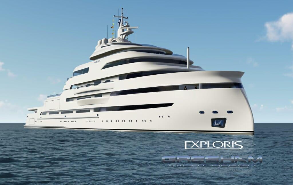 Яхта от Gresham Yacht Design и другие новости