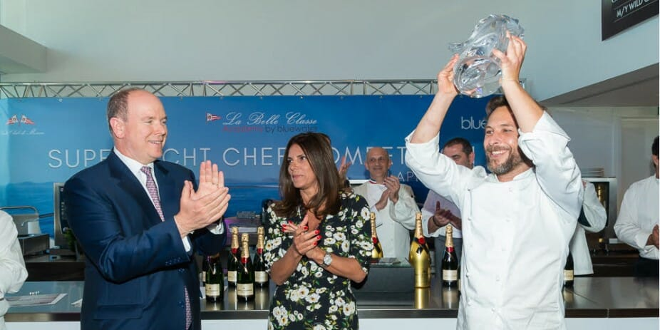 Яхт-клуб Монако: шеф-повара суперъяхт на красной дорожке