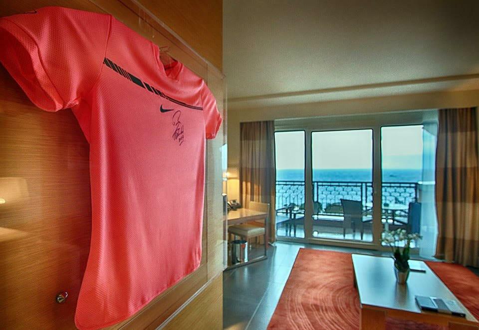 Monte-Carlo Bay назвал один из своих номеров в честь Рафаэля Надаля