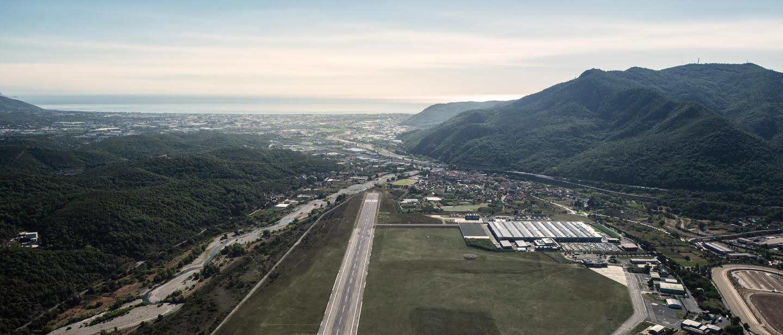 Строительство аэропорта для частных полетов вблизи Монако