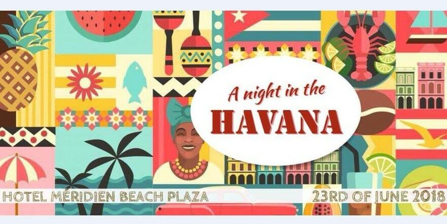 Благотворительная латиноамериканская вечеринка «Ночь в Гаване»