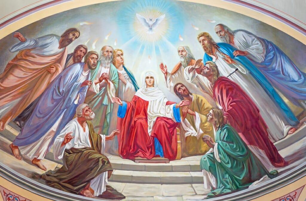День Пятидесятницы у католиков - конфирмация взрослых