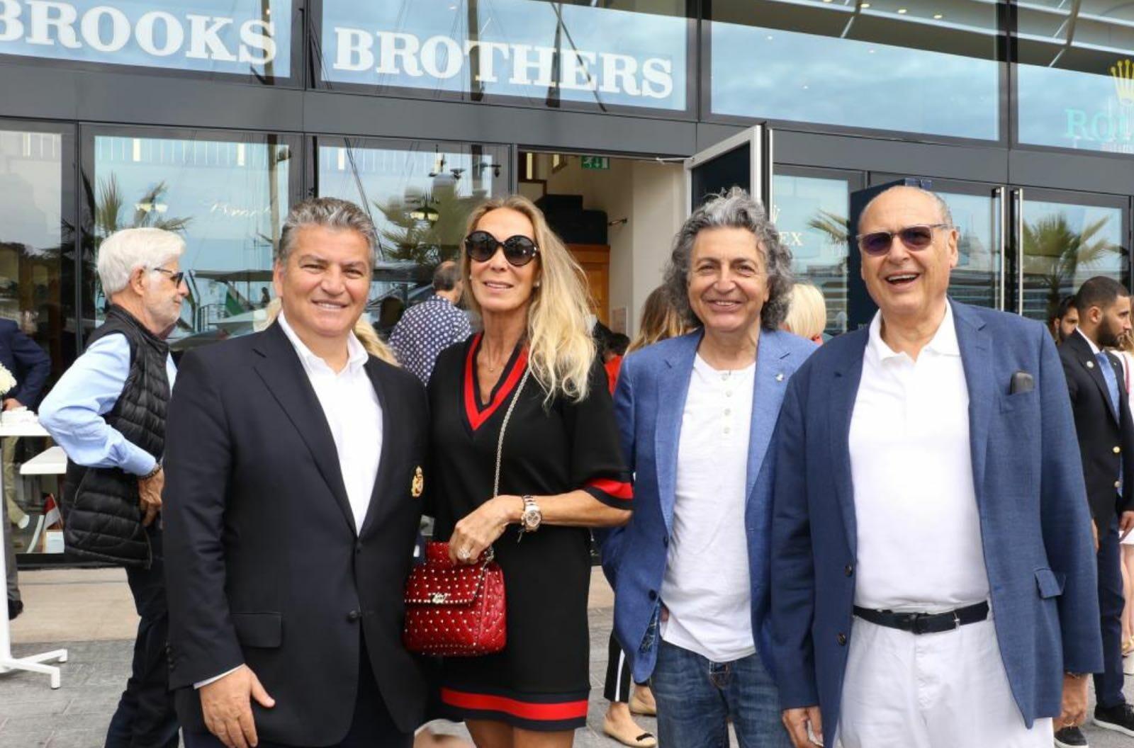 Завтрак c Brooks Brothers в Яхт-клубе Монако