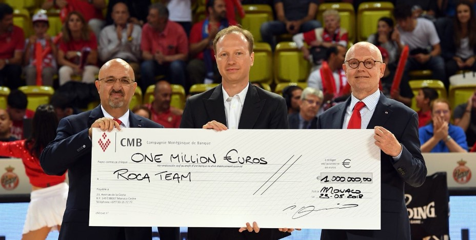 "Ассоциация ""AS Monaco Basketball Partners"" поддержала Roca Team"