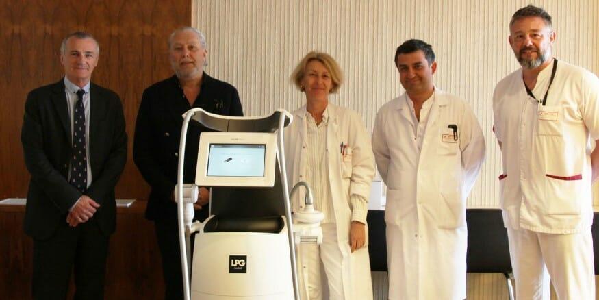 Новая технология лечения шрамов в Госпитале принцессы Грейс