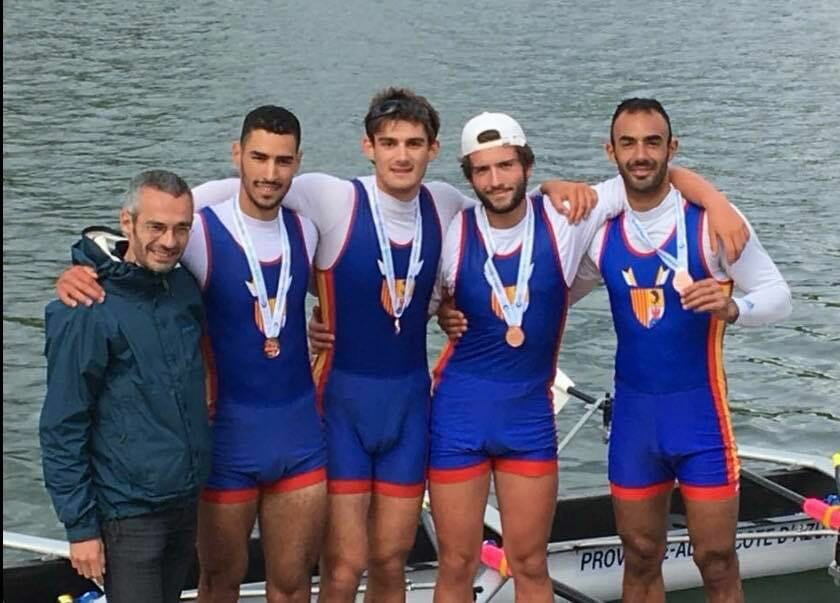 Монегасские гребцы завоевали 7 медалей в Кубке Франции 2018