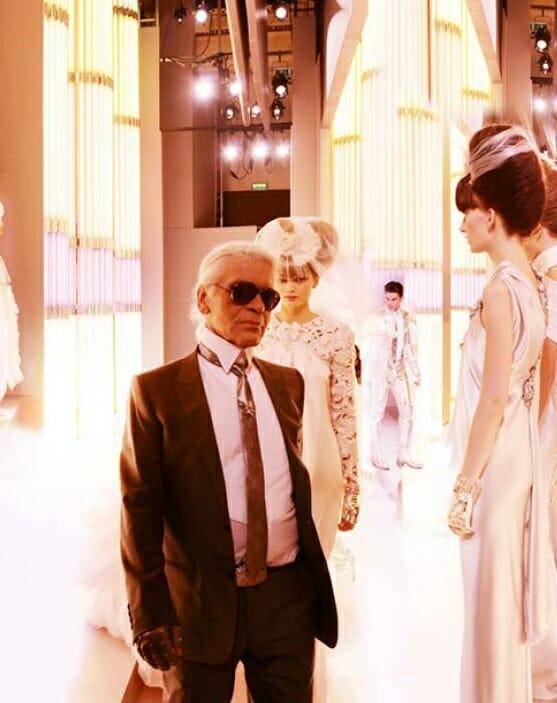 Экспозиция «Модель и Лагерфельд» (Modeland-and-Mr-Lagerfeld)
