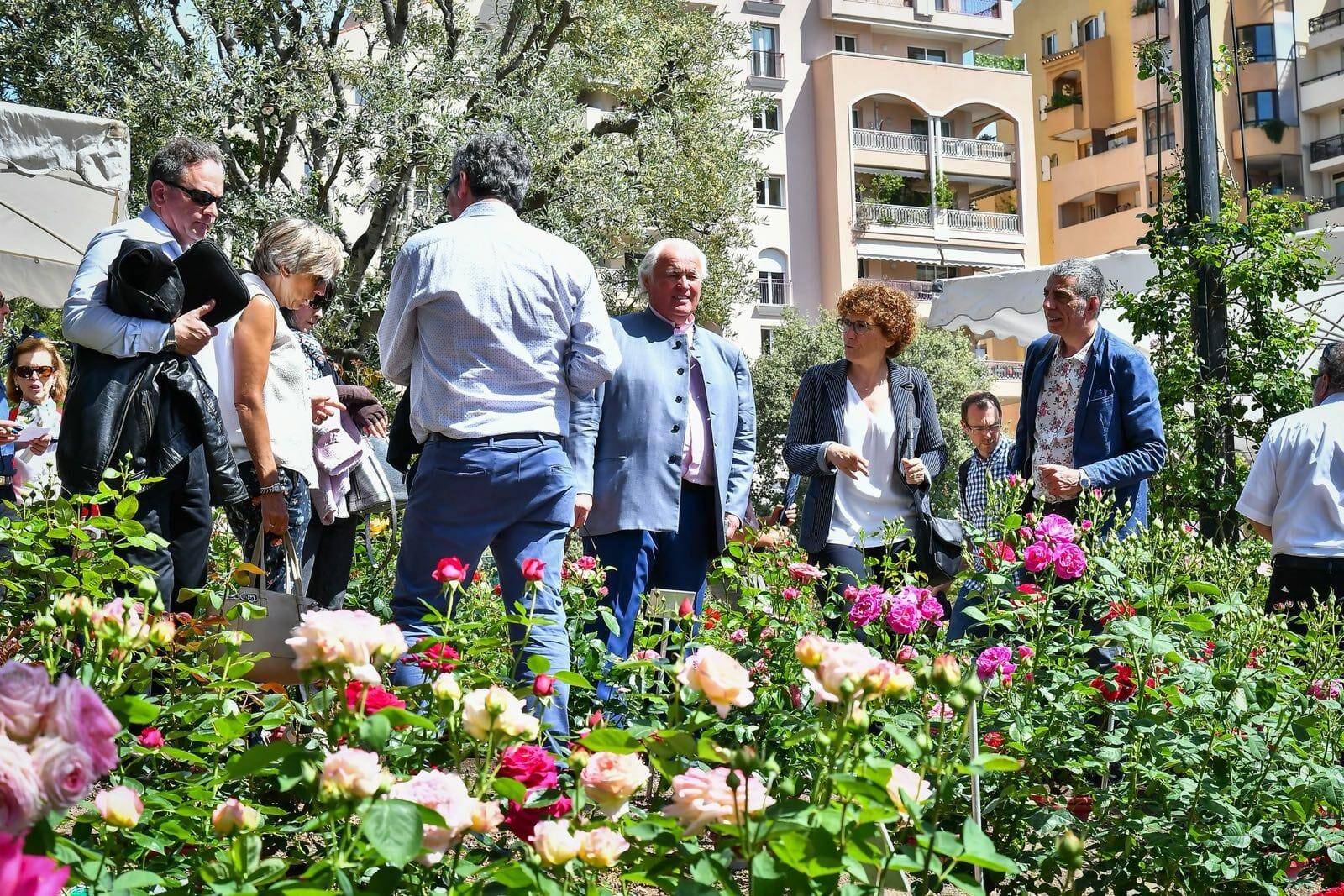 4-й Международный конкурс роз в Монако