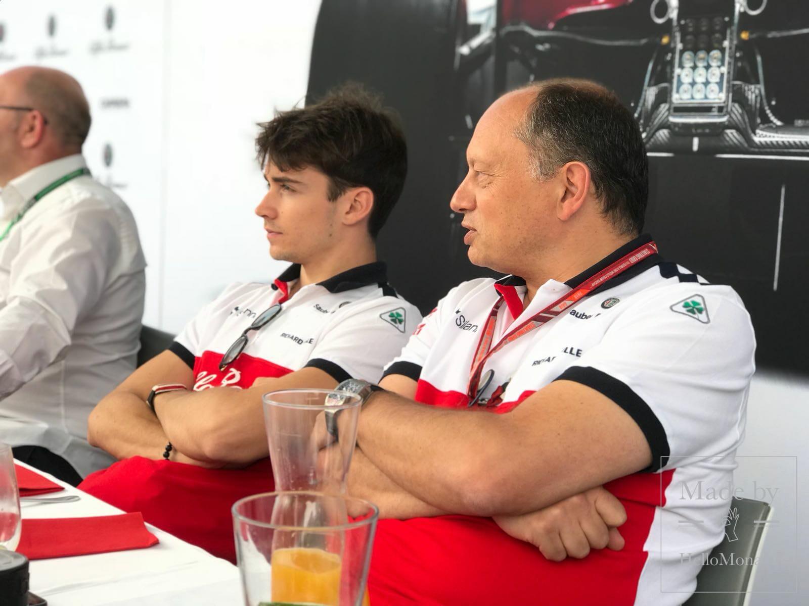 Завтрак с командой Sauber F1 Team