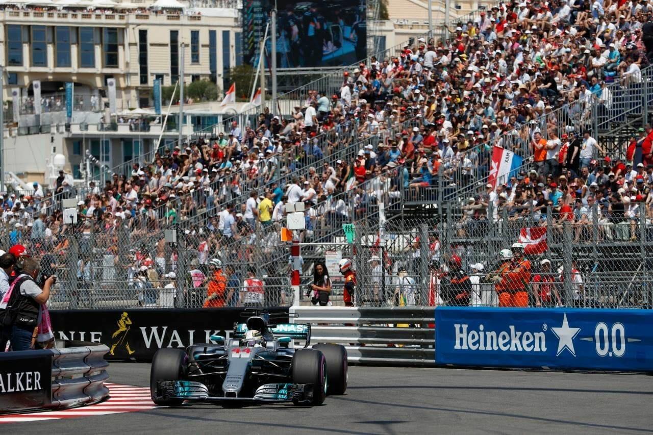 Изумительные статистические показатели Гран-при Формулы 1 в Монако 2017 года