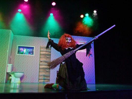 Детский спектакль в Театре Муз