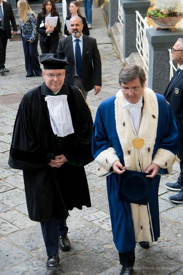 Дела княжеские: итальянские визиты князя Монако