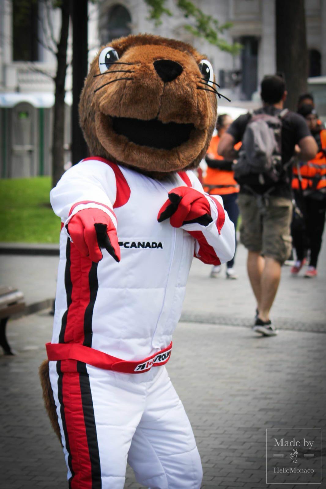 HelloMonaco на Гран-при в Канаде