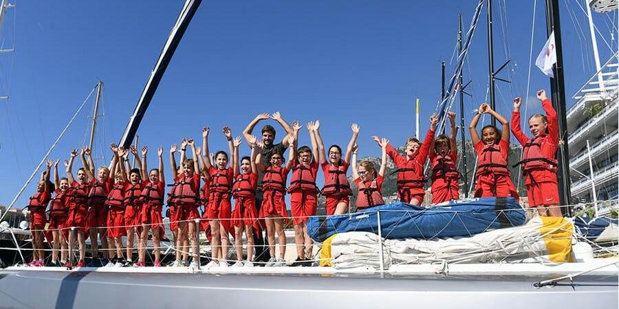 Ученики школы Ecole des Révoires посетили Monaco Globe Series