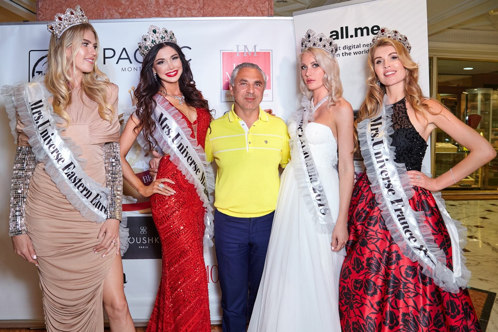 В Монако прошла коронация самых достойных девушек Франции, Монако, Восточной Европы и Литвы