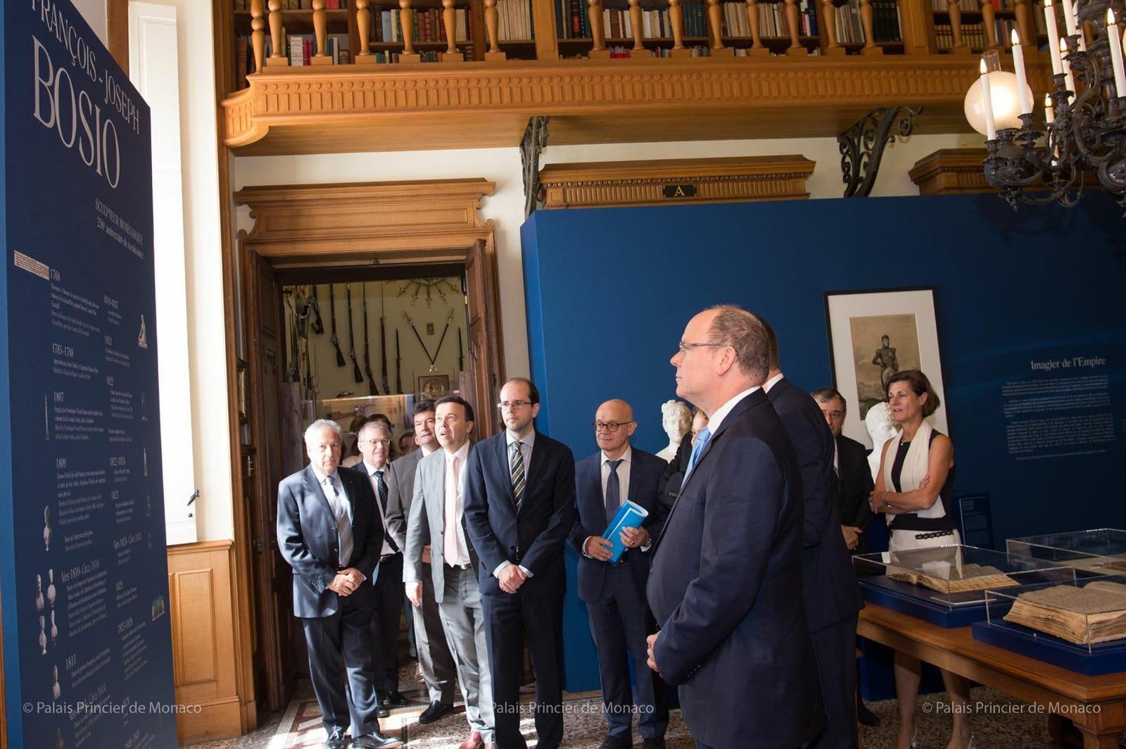 Дела княжеские: Альбер II открыл выставку Франсуа-Жозефа Бозио