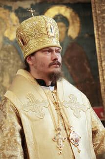 Епископ Нестор провёл службу в Монако