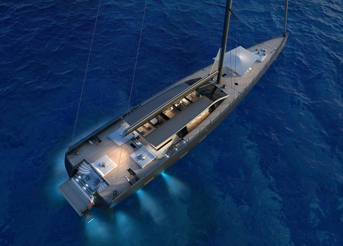 90-метровая суперъяхта Shark и другие новости