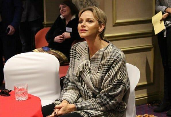 Дела княжеские: княгиня Шарлен посетила Йоханнесбург